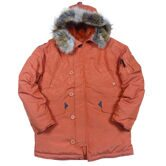 Куртка Аляска Nord Storm N3B OXFORD APRICOT ORANGE