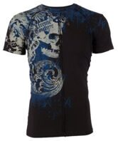 Футболка мужская Xtreme Couture Affliction PLASTERED X84 Black