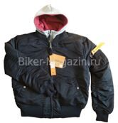 Куртка мужская Бомбер Nord Storm Outback Apolloget black red